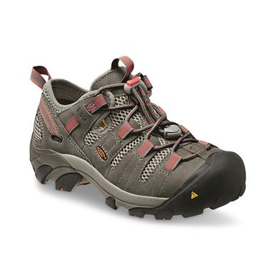 KEEN Utility Women's Atlanta Cool ESD Soft Toe Work Shoes, Gargoyle