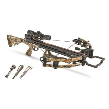 Parker Hurricane Crossbow with Outfitter package, 3x Illuminated MR Scope