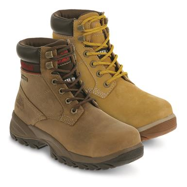 "Cat Women's Dryverse 6"" Waterproof Steel Toe Work Boots"