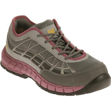 Cat Women's Connexion Steel Toe Work Shoes, Gray