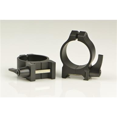Warne 30mm Quick Detach Matte Rings