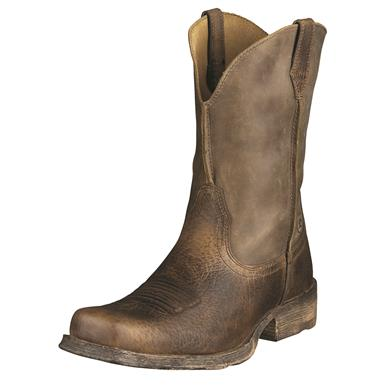 Ariat Men's Rambler Western Boots, Earth/Brown Bomber