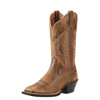 Ariat Women's Roundup Outfitter Western Boots, Vintage Bomber