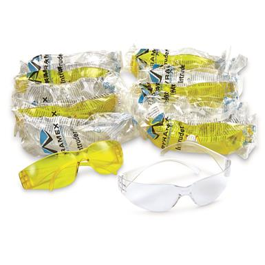 Pyramex Intruder Safety Glasses, 12 Pack