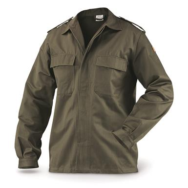 Belgian Military Surplus Field Shirts, 2 Pack, New