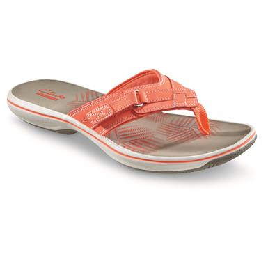Clarks Women's Breeze Sea Sandals, Coral