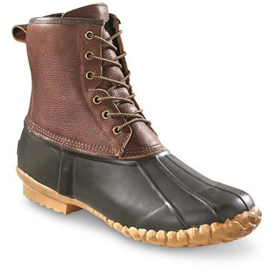 Guide Gear Men's Cedar Leather Duck Boots