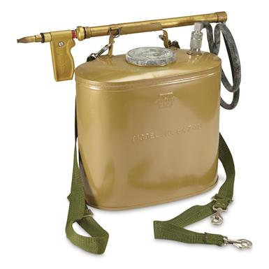 U.S. Forestry Service Surplus Backpack Sprayer, Olive Drab, New