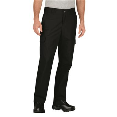 Dickies Men's Stretch Ripstop Tactical Pant, Black