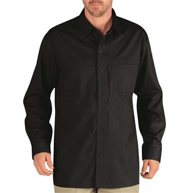Dickies Men's Long Sleeve Tactical Shirt, Midnight