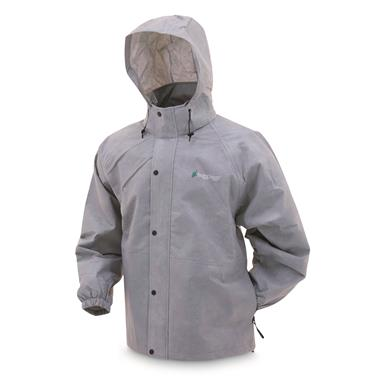 frogg toggs Men's Waterproof Pro Action Jacket, Gray