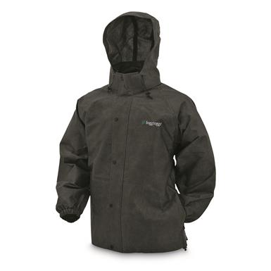 frogg toggs Men's Waterproof Pro Action Jacket, Black