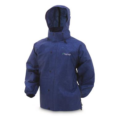 frogg toggs Men's Waterproof Pro Action Jacket, Blue