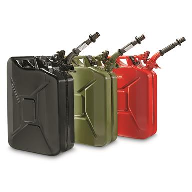 NATO Military Surplus 20L Jerry Can with Nozzle and Adapter