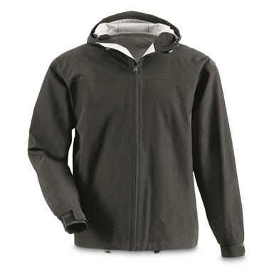 Guide Gear Men's 2.5 Rain Jacket, Black
