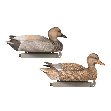 Tanglefree Pro Series Gadwall Decoys, 6 Pack