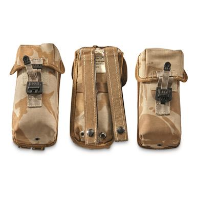 British Military Surplus Mag Pouches, 3 pack, Like New