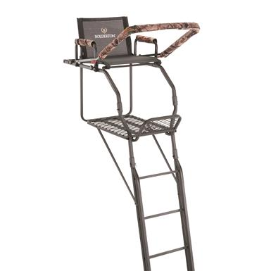 Bolderton Double Rail Deluxe 20' Ladder Tree Stand