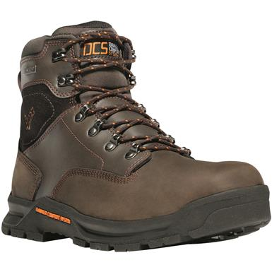 "Danner Men's Crafter Waterproof 6"" Work Boots, Brown"