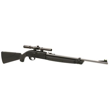 Remington AirMaster 77 Air Rifle, Bolt Action, .177 Caliber, 4x15 Scope