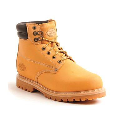 Dickies Men's Raider Steel Toe Work Boots, Wheat