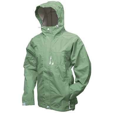 frogg toggs Women's Waterproof Java Toadz 2.5 Jacket, Seafoam