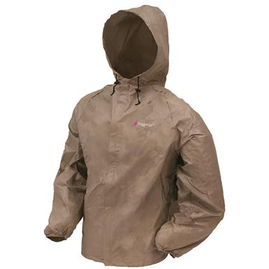 frogg toggs Women's Waterproof Ultra Lite 2 Jacket, Khaki