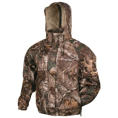 frogg toggs Women's Waterproof Pro Action Jacket, Realtree