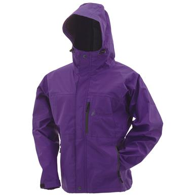 frogg toggs Women's Waterproof ToadRage Jacket, Purple