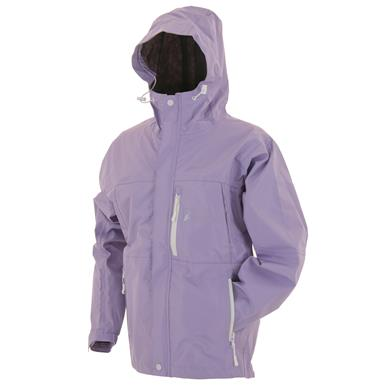 frogg toggs Women's Waterproof ToadRage Jacket, Violet