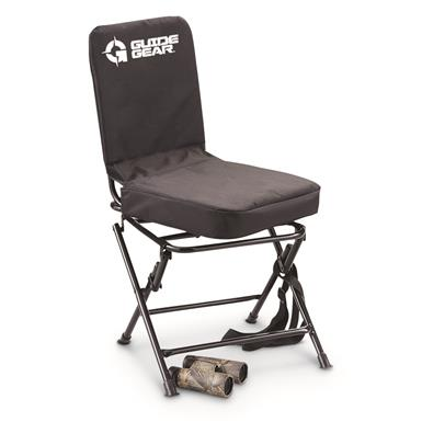 Guide Gear Big Boy Oversized Swivel Hunting Blind Chair