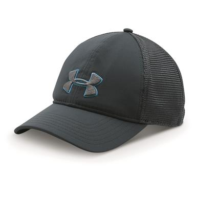 Under Armour Men's Classic Mesh-Back Baseball Cap, Stealth Gray / Graphite