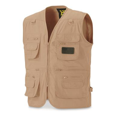 HQ ISSUE Men's Concealment Vest, Tan