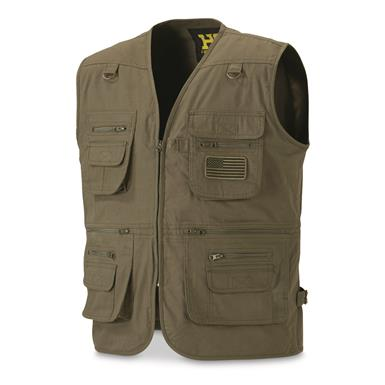 HQ ISSUE Men's Concealment Vest, Olive Drab