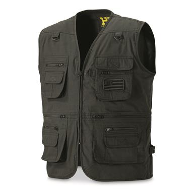 HQ ISSUE Men's Concealment Vest, Black