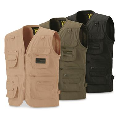 HQ ISSUE Men's Concealment Vest, Tan (189