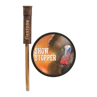 Flextone Show Stopper Glass Pot Turkey Call