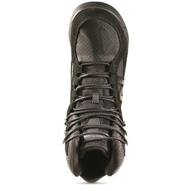 Suede/mesh uppers, Black