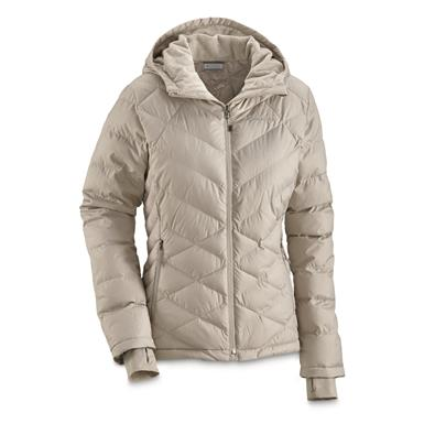 Columbia Women's Heavenly Insulated Hooded Jacket, Light Cloud