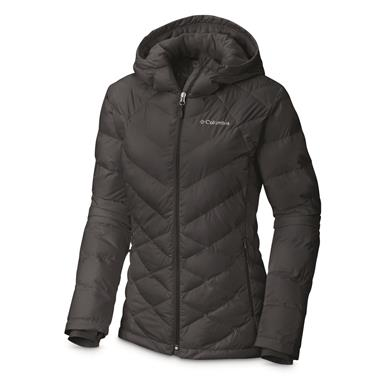Columbia Women's Heavenly Insulated Hooded Jacket, Black