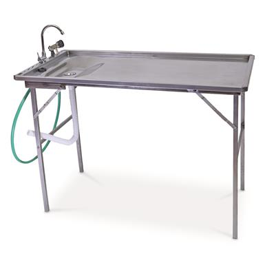 Stainless Steel Fillet Table