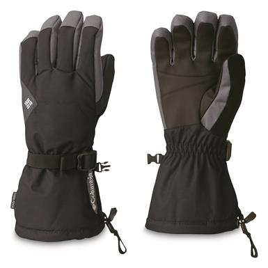 Columbia Men's Whirlibird Waterproof Insulated Gloves, Black/Graphite