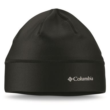 Columbia Men's Trail Summit Beanie Hat, Black