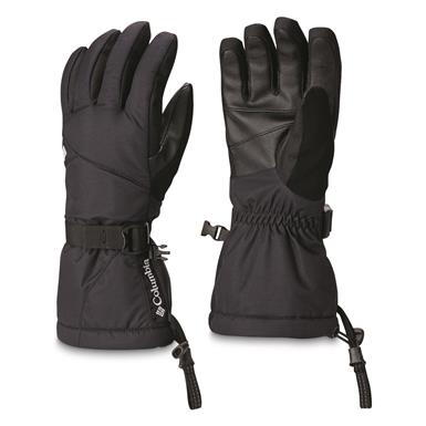 Columbia Women's Whirlibird Waterproof Insulated Gloves, Black