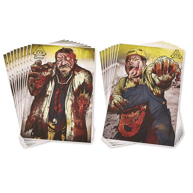 Caldwell ZTR Zombie Flake Off Targets, 16 Pack