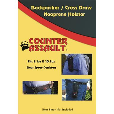 Counter Assault Backpacker / Cross Draw Neoprene Holster