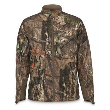 ScentLok Men's Full Season TAKTIX Hunting Jacket, Mossy Oak Break-Up Country