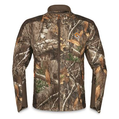 ScentLok Men's Full Season TAKTIX Hunting Jacket, Realtree Edge