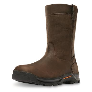 Danner Men's Crafter Waterproof Wellington Work Boots, Brown