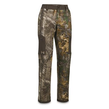 Under Armour Women's Stealth Mid-Season Pants, Realtree AP Xtra/Metallic Beige